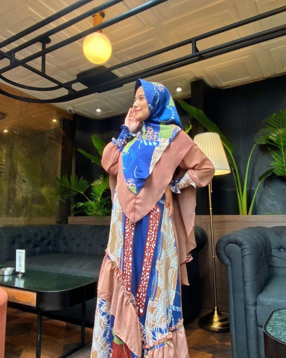 Potret terbaru Nadya Mustika saat hamil © 2021 brilio.net