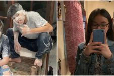 7 Potret kedekatan Dimas Ahmad dan Anneth Delliecia, syuting bareng