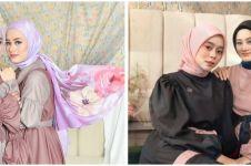 10 Pemotretan Dinda Hauw dan Lesty Kejora bertema sisterhood