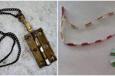 10 Desain liontin kalung ini bentuknya absurd, ada dari engsel