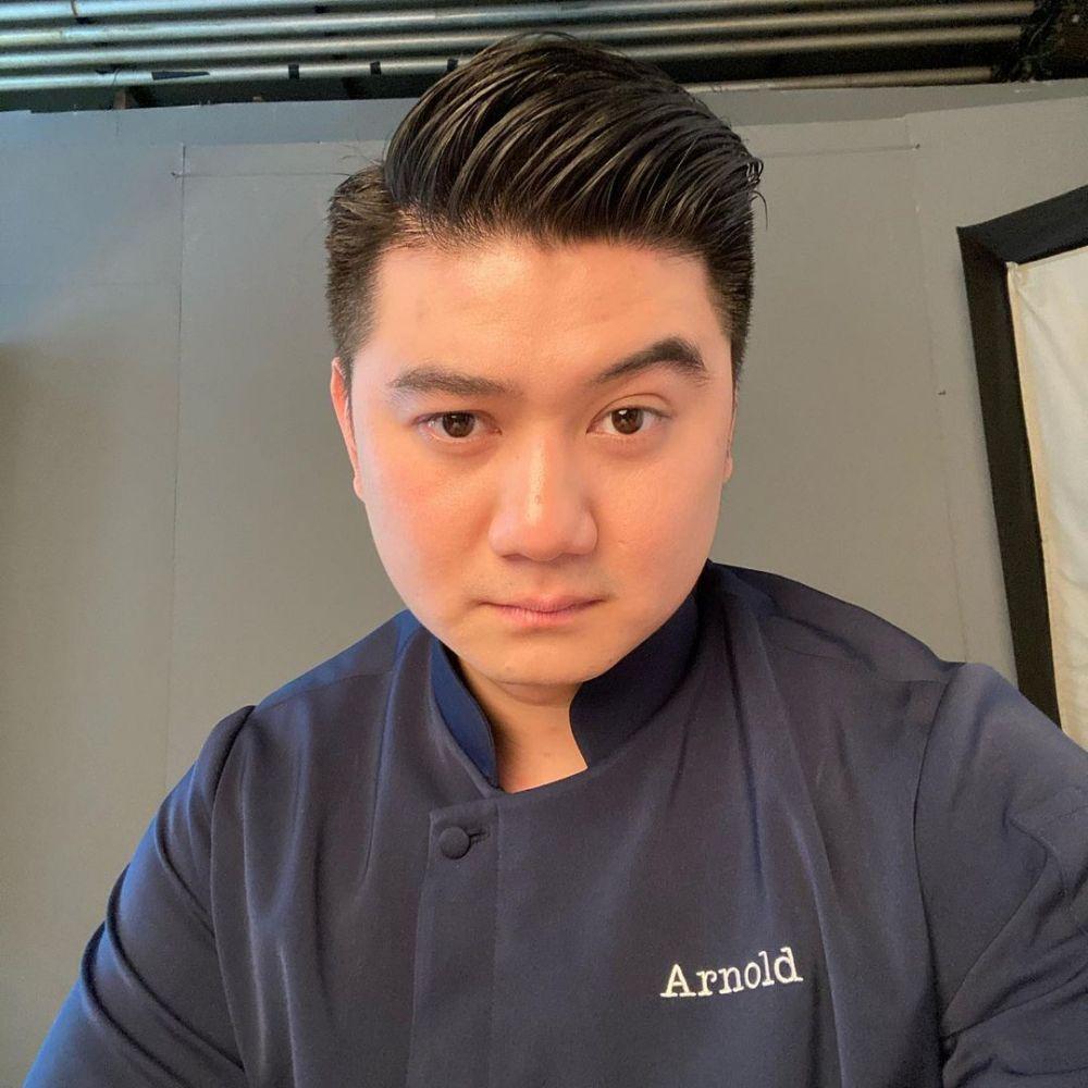Cerita Chef Arnold yang jarang terekspos © Instagram