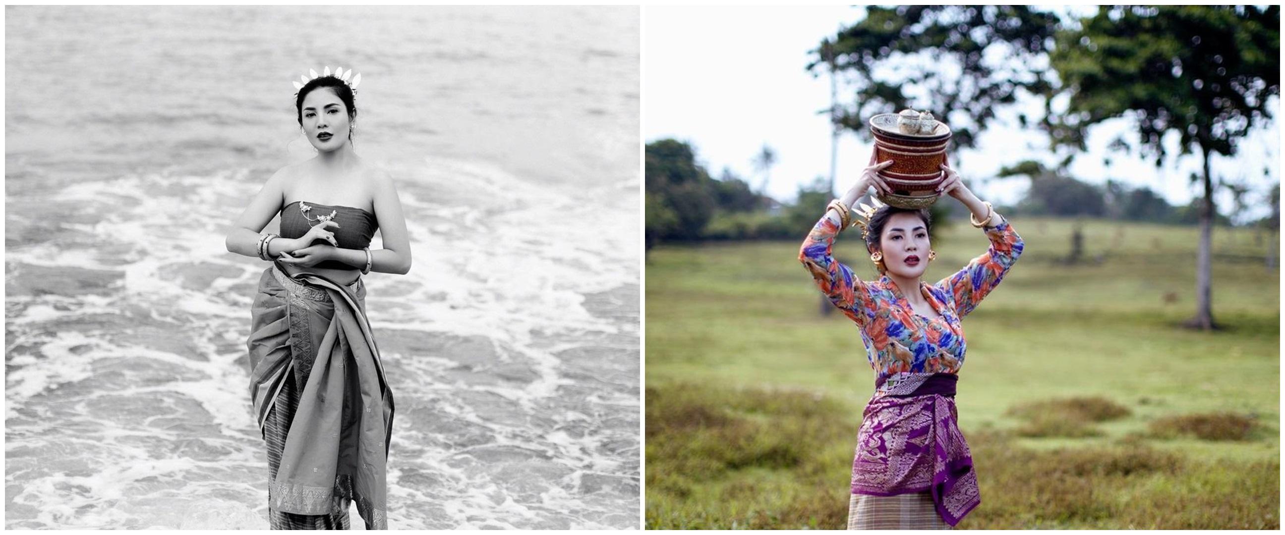 8 Pesona Nindy Ayunda pemotretan kenakan busana adat Bali
