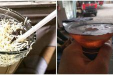 10 Potret nyeleneh orang minum teh ini bikin nyengir lebar
