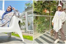 8 Potret OOTD hamil ala Nadya Mustika, tetap nyaman dan stylish