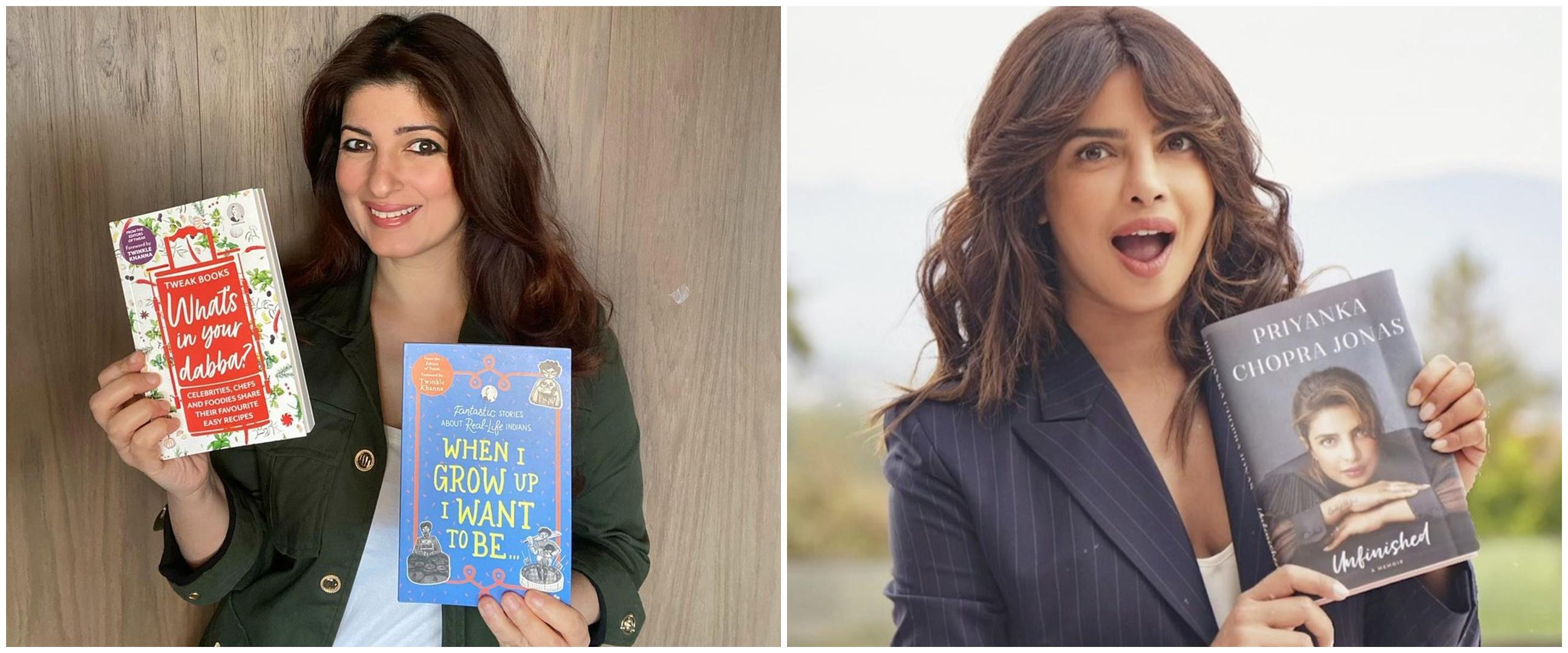 5 Seleb Bollywood ini rilis buku, ada baru sehari langsung best seller