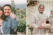10 Potret Kesha Ratuliu dan Adhi Permana dari pacaran hingga nikah
