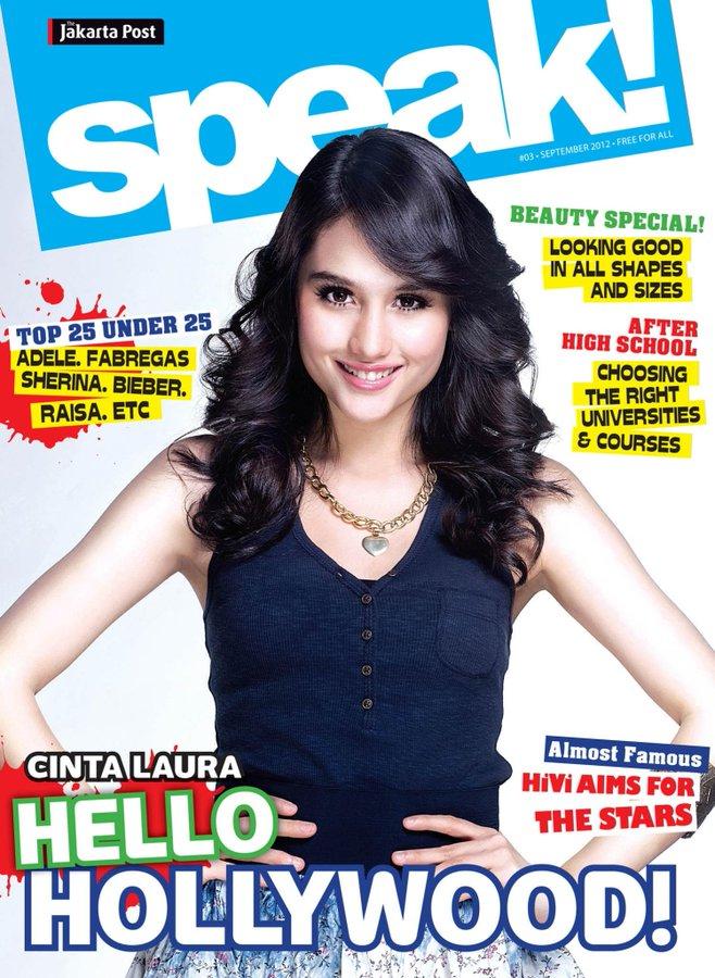 Cinta Laura cover majalah © 2021 berbagai sumber