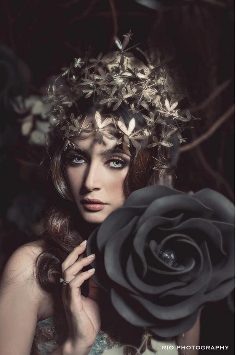 Nabila Syakieb makeup tebal © Instagram