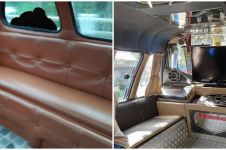 10 Potret interior angkot ini bikin penumpang senyum sepanjang jalan