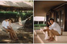 8 Momen liburan Nikita Willy di Magelang, piknik di pinggir sungai