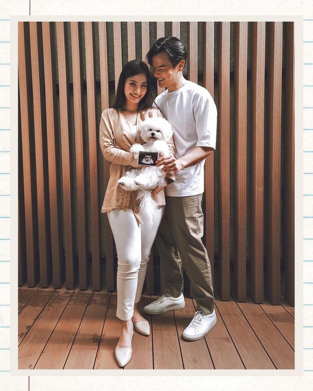 Dion Wiyoko & istri umumkan kehamilan Instagram