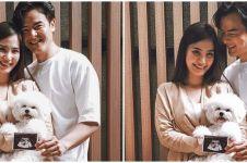 5 Momen Dion Wiyoko dan istri umumkan kehamilan, jadi kado Valentine