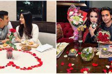 Momen dinner 10 pasangan seleb rayakan Valentine, romantis banget