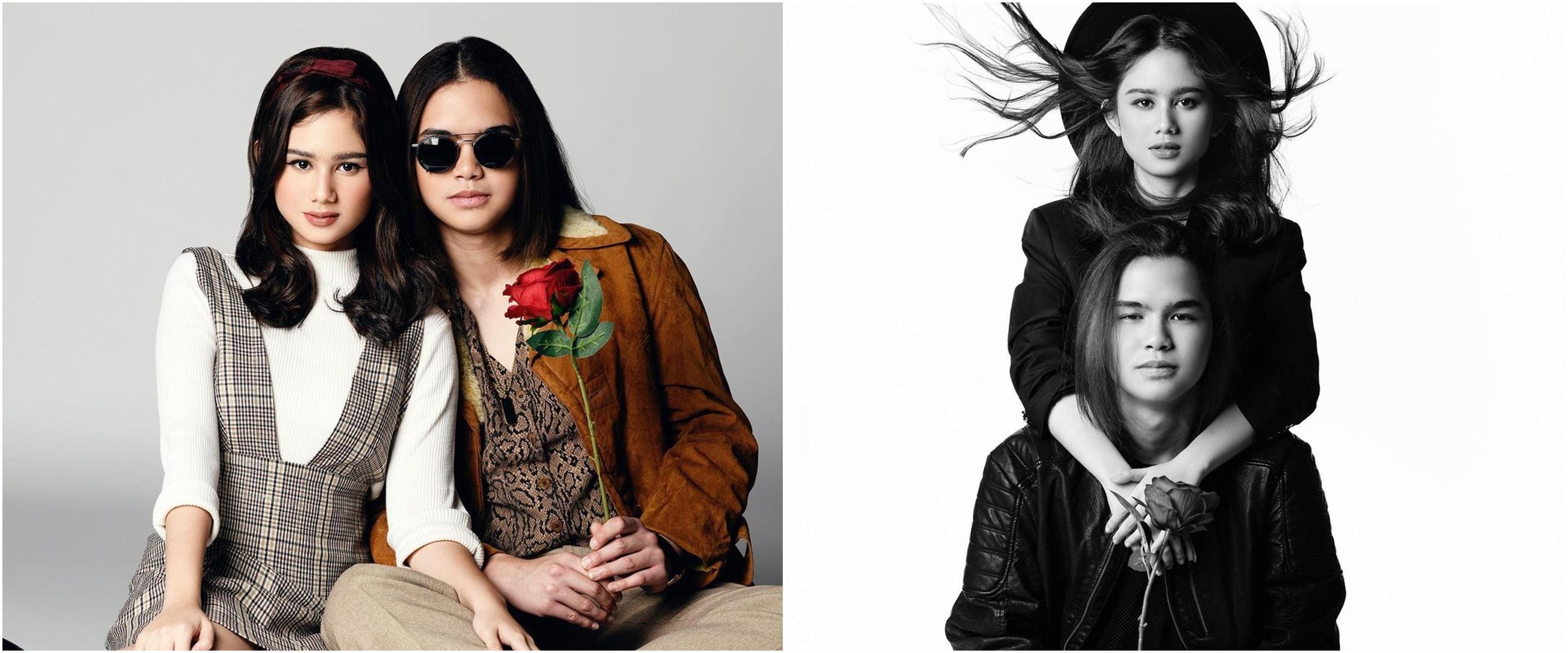 6 Gaya pemotretan Tissa Biani dan Dul, ala Yoko Ono dan John Lennon