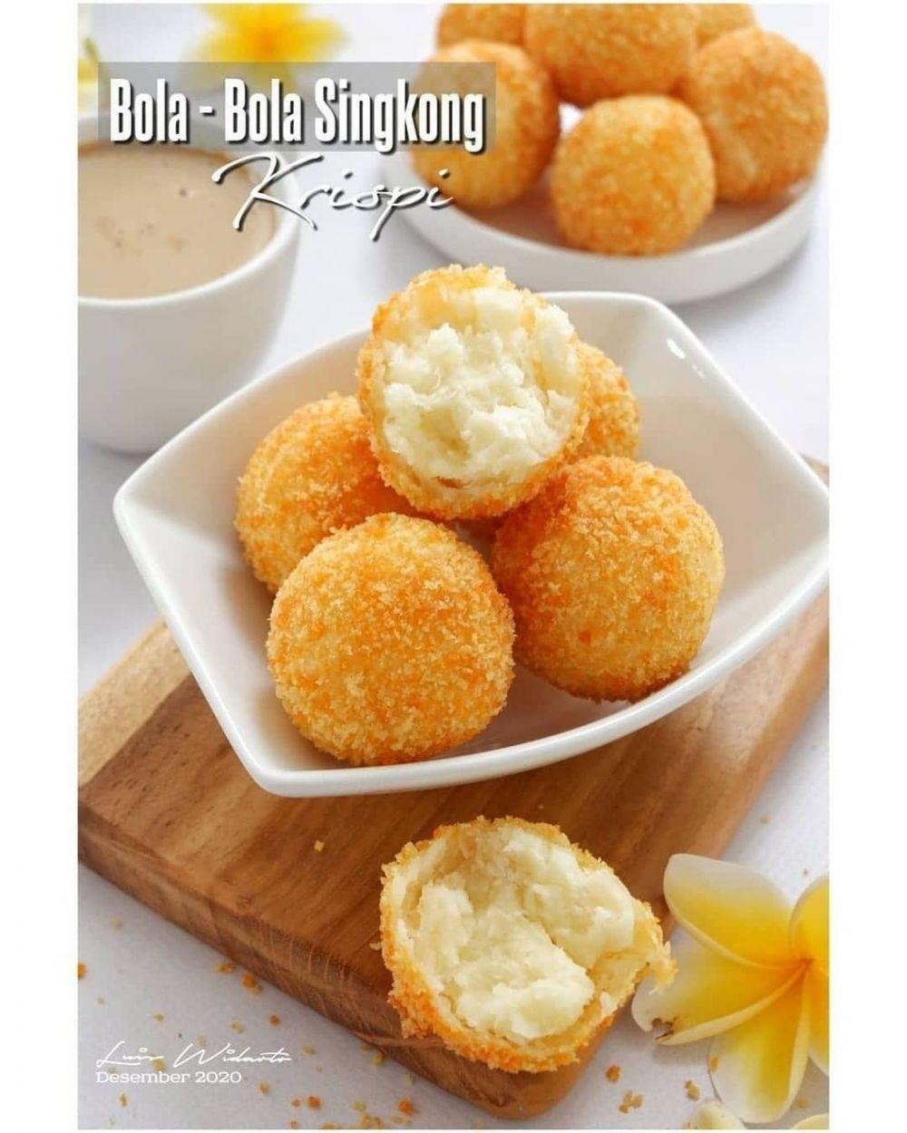 Resep gorengan kekinian Instagram ; cookpad © 2021 brilio.net