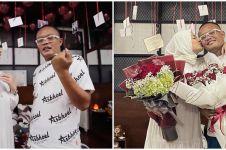 8 Momen Nathalie Holscher beri kejutan Valentine ke Sule, romantis pol