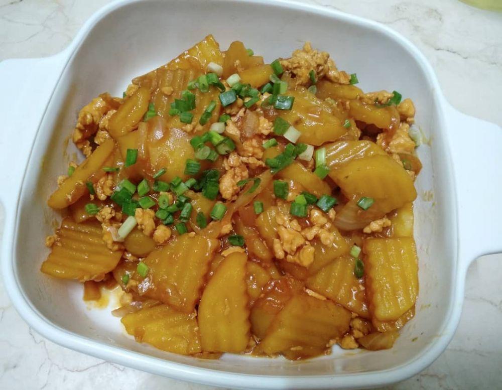 Resep lauk berbahan kentang © Instagram