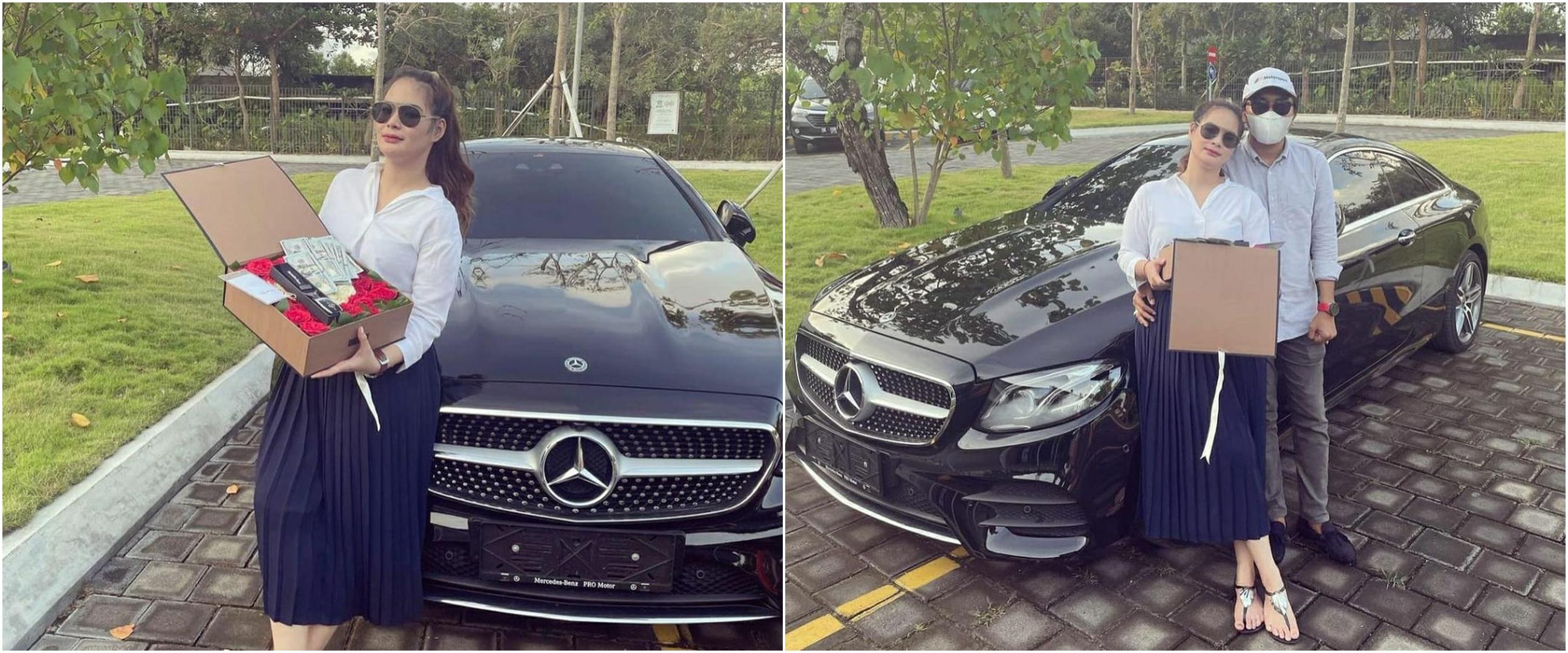 Baru kenal seminggu, Shyalimar Malik dapat hadiah mobil dari pacar