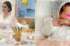 7 Potret perjalanan kehamilan anak ketiga Eva Anindita hingga lahiran