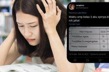 11 Curhatan lucu netizen +62 tentang nilai terjelek semasa sekolah