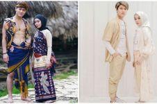 11 Potret Lesty Kejora dan Rizky Billar kenakan pakaian senada