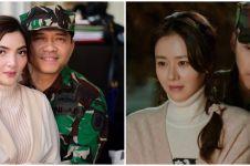 10 Gaya seleb tirukan adegan di drama Korea, romantis sampai kocak