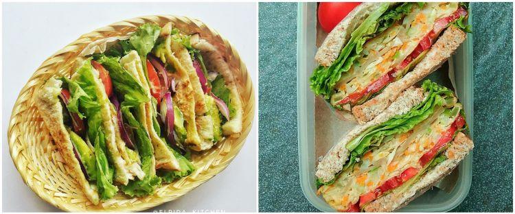 20 Resep sandwich paling menggugah selera, mudah dibuat dan simpel