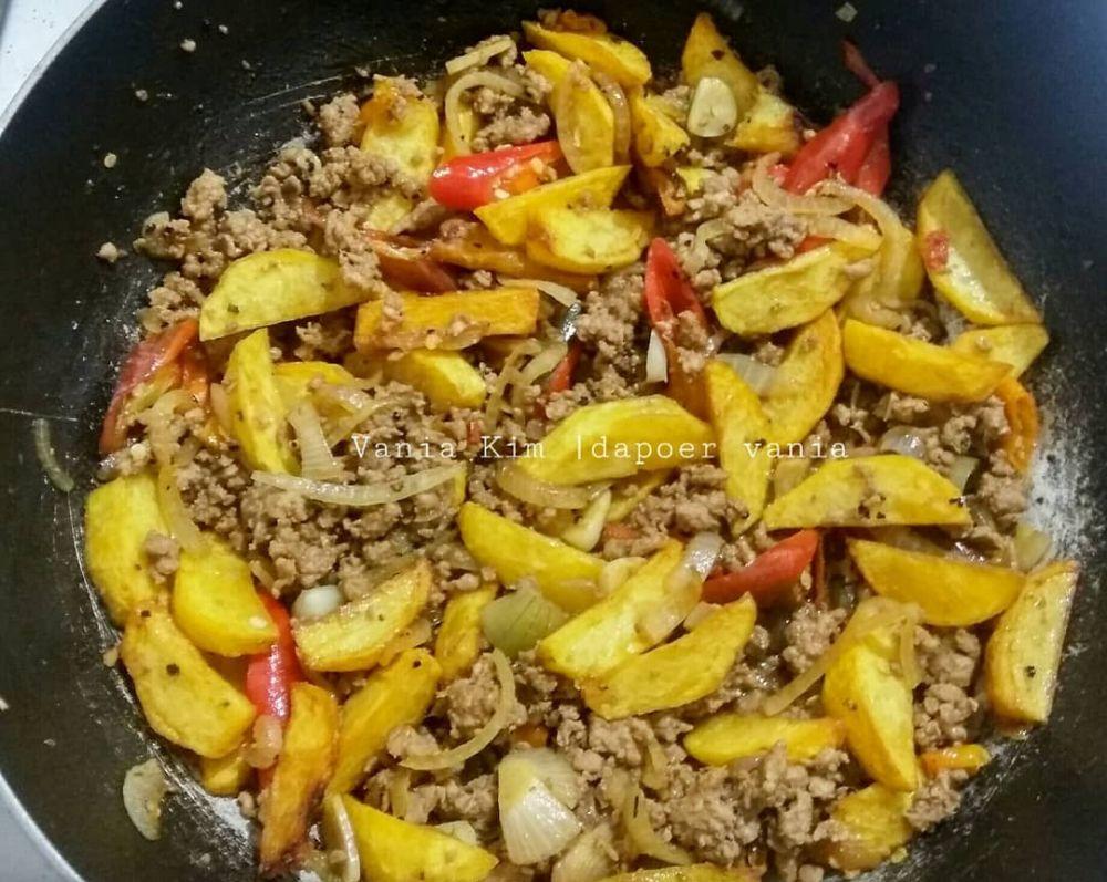 Resep daging cincang ala rumahan © Instagram