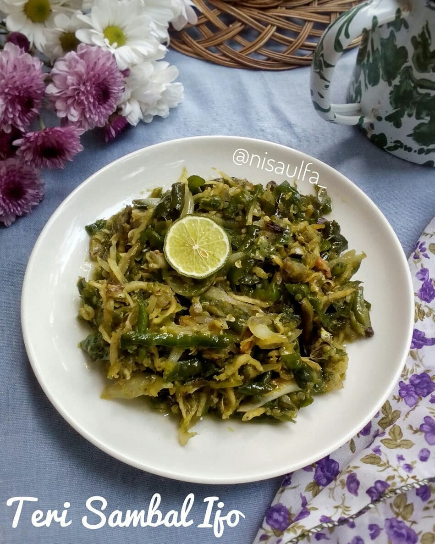 resep kreasi sambal cabai ijo Instagram ; cookpad © 2021 brilio.net