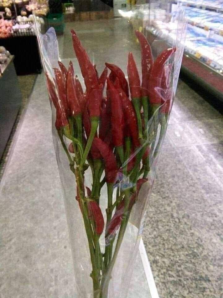 bentuk nyeleneh buket bunga © Berbagai Sumber