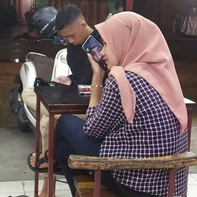 momen kocak video call © Instagram