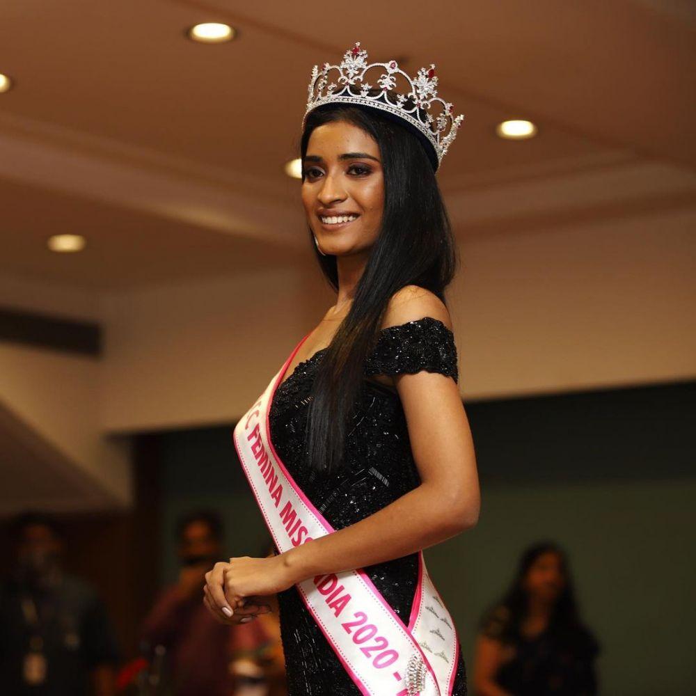 putri supir bajaj jadi runner up miss india © Instagram