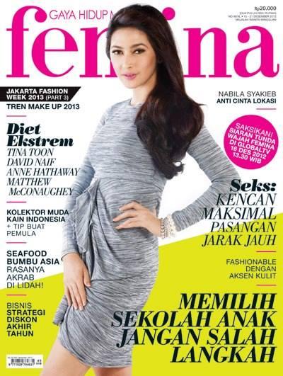 Nabila Syakieb jadi cover majalah © 2021 brilio.net
