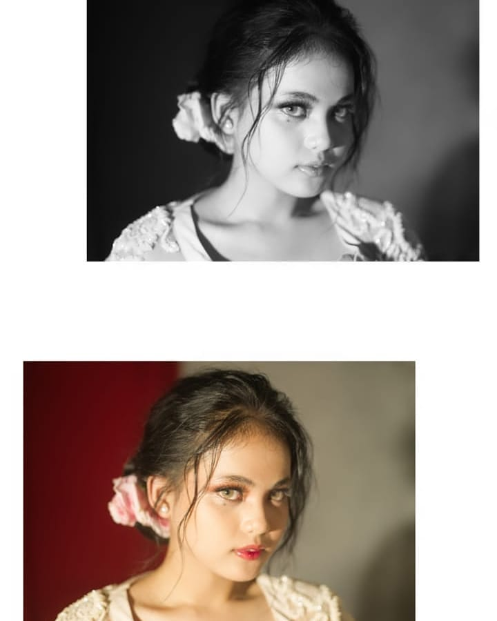 pemotretan Putri pakai kebaya ©Instagram
