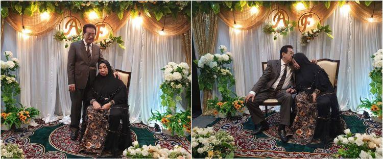 7 Momen Anwar Fuady & istri rayakan ultah pernikahan ke-50, romantis