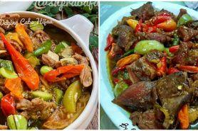 10 Resep oseng-oseng daging, mudah dibuat dan bergizi
