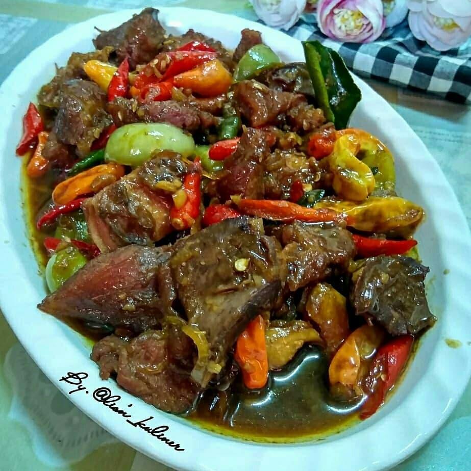 Resep oseng-oseng daging © Instagram