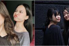 7 Potret kebersamaan Megan Domani dan Hanggini, bak saudara kandung