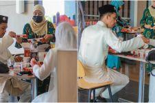 Unik, pasangan pengantin ini lakukan resepsi di restoran cepat saji