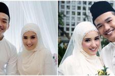6 Momen pernikahan Hannah Delisha dan Imam Shah, penuh haru