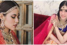 Pesona 10 seleb berdandan bak bintang Bollywood, memesona