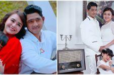 10 Pemotretan keluarga Aldebaran di Ikatan Cinta, posenya bikin baper