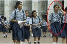 Viral foto siswi SMP di Masjid Istiqlal, kini jadi istri komedian top