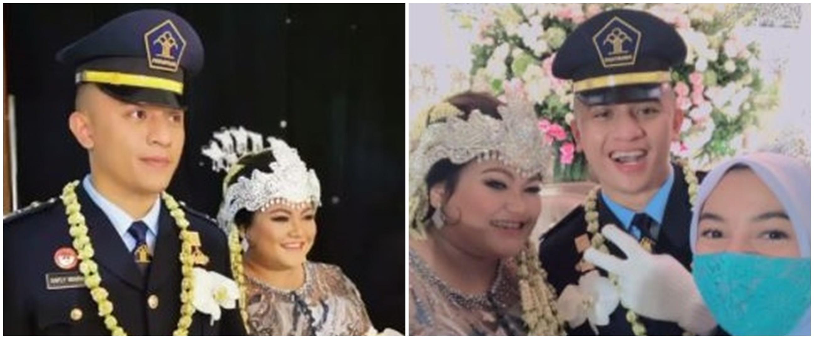 10 Momen resepsi pernikahan Olivia anak Nia Daniaty, meriah