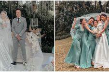 10 Momen pernikahan Marcella Daryanani dan Willy, berlangsung khidmat