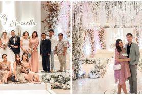 Gaya 7 seleb hadiri pernikahan Marcella Daryanani, tampil elegan