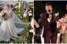 10 Momen resepsi pernikahan Reza Arap dan Wendy Walters, penuh khidmat