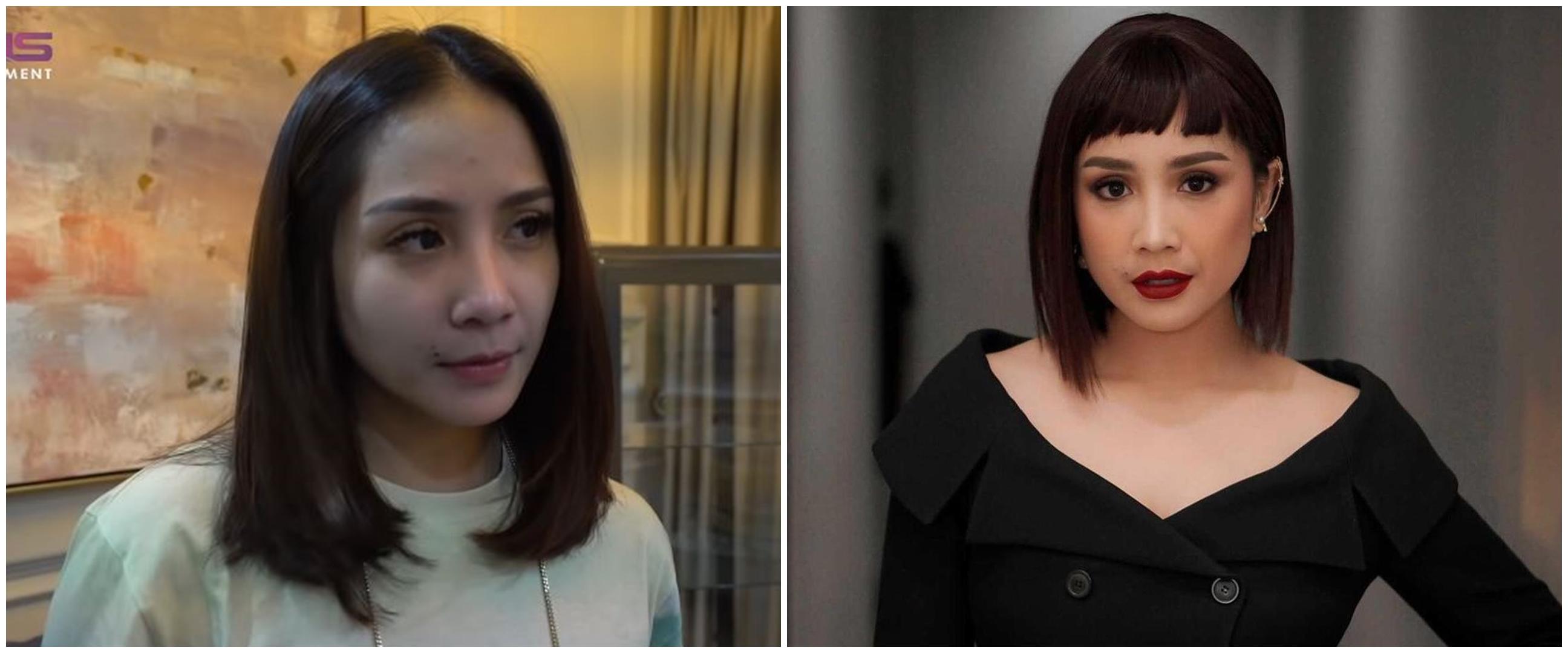 10 Transformasi gaya rambut Nagita Slavina, dipuji selalu bak ABG