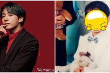 10 Potret masa kecil Jungkook BTS, punya wajah imut yang awet