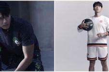 7 Gaya pemotretan Hyun Bin pakai baju olahraga, bak atlet profesional